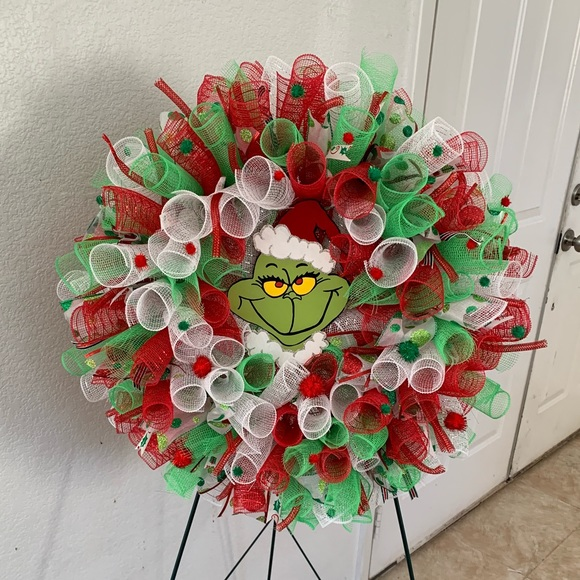 Other - Grinch wreath